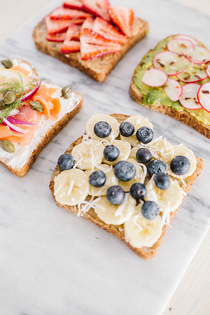 breakfast toast recipes via LaurenConrad.com