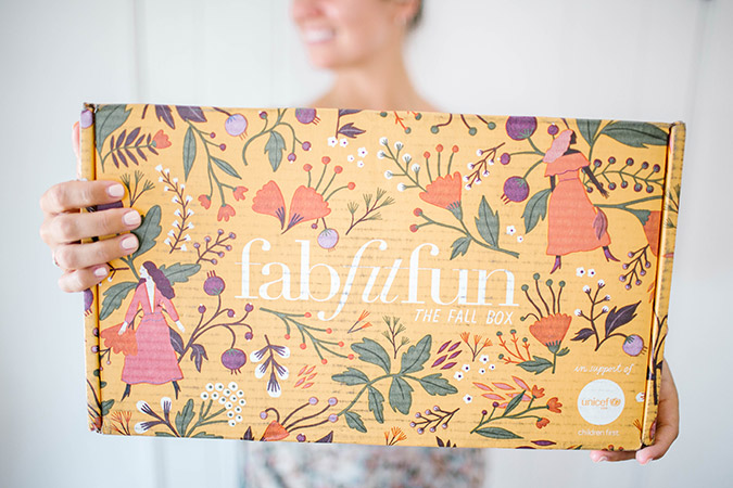 Fall FabFitFun unboxing on LaurenConrad.com