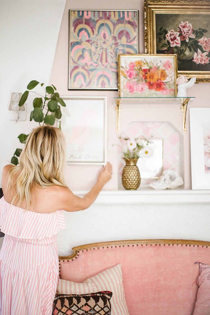 how to create the prettiest pink mantle