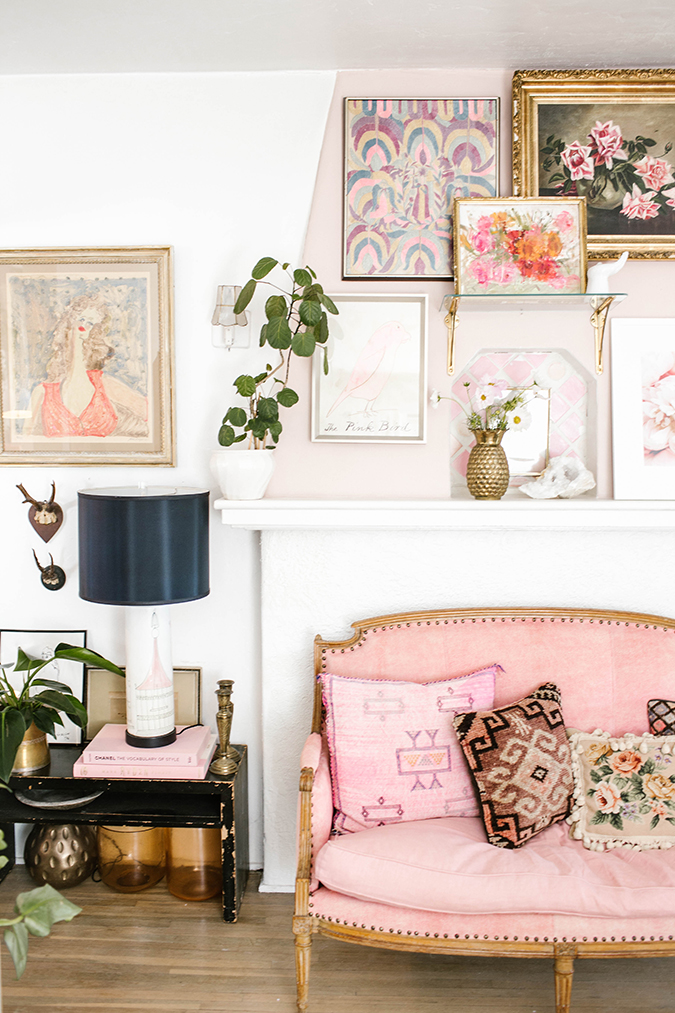 how to create the prettiest feminine mantle