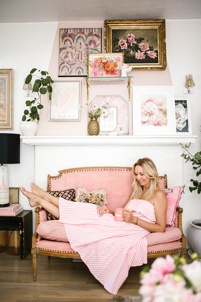 Lauren Conrad's prop stylist, Kate Martindale at home