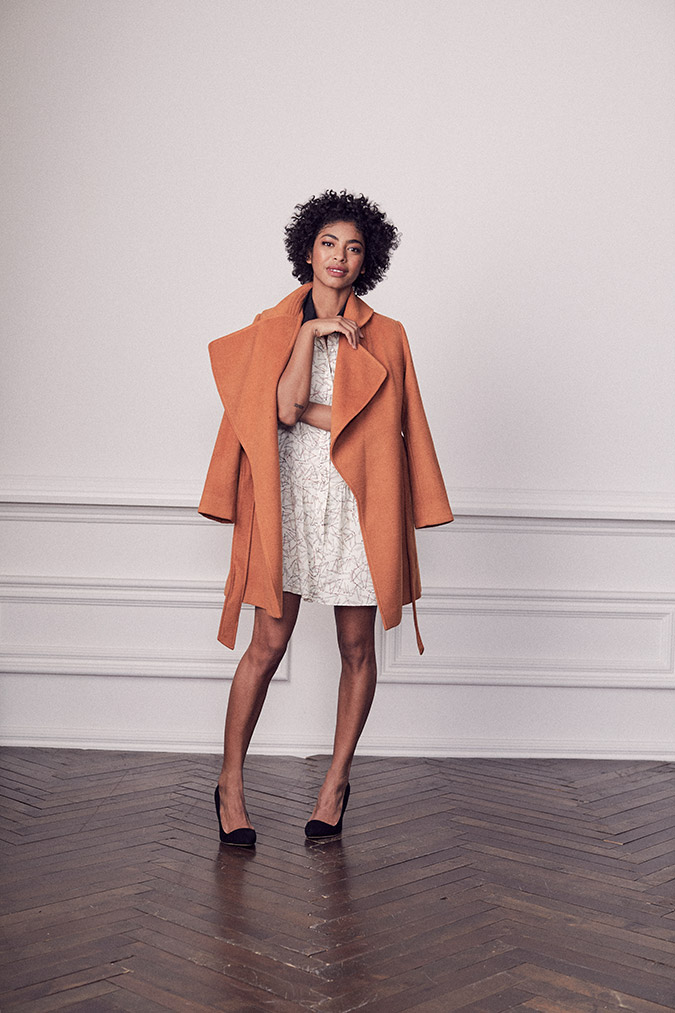 Shirley Coat and Estelle Dress by Paper Crown