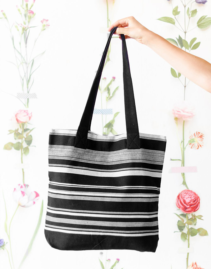The Little Market striped tote
