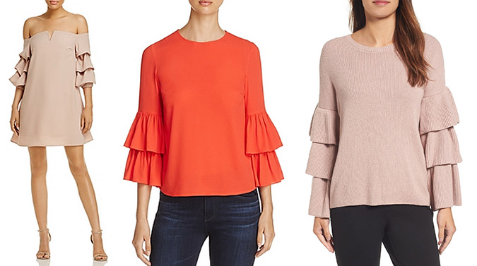 Tiered sleeves for fall via LaurenConrad.com