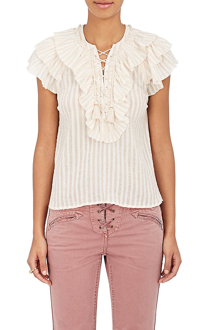 Ulla Johnson blouse on LaurenConrad.com