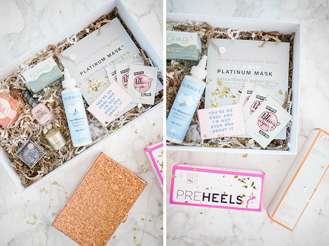 LC Lauren Conrad Runway event gift box