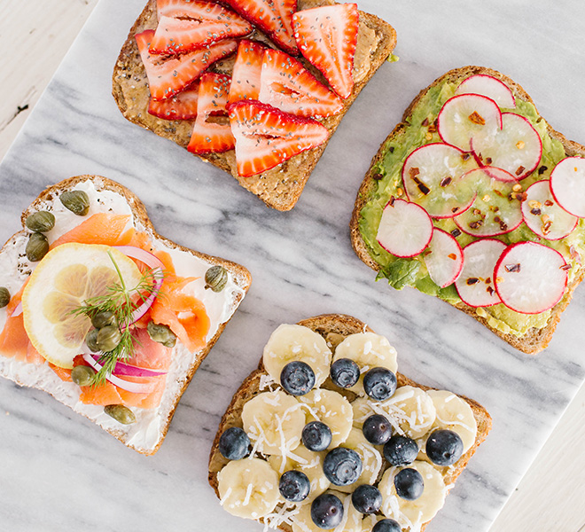 Recipe Box: Breakfast Toast 4 Ways