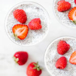 Busy Girl Breakfast: Strawberry Raspberry Vanilla Chia Seed Pudding