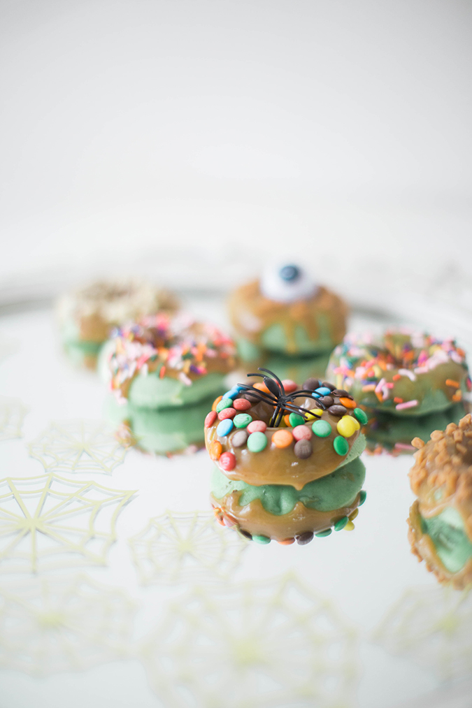 caramel apple donuts recipe via LaurenConrad.com