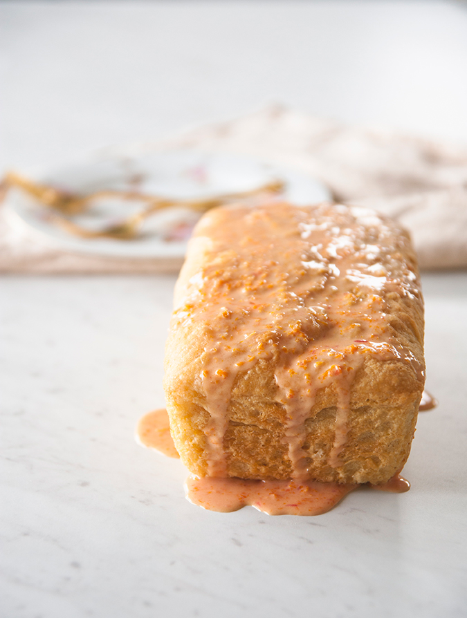 yummiest orange bread recipe via The Kitchy Kitchen