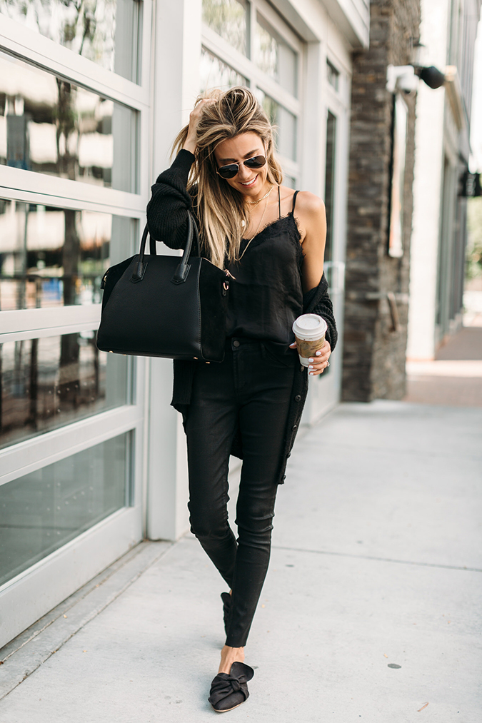 all-black ensemble via Hello Fashion Blog