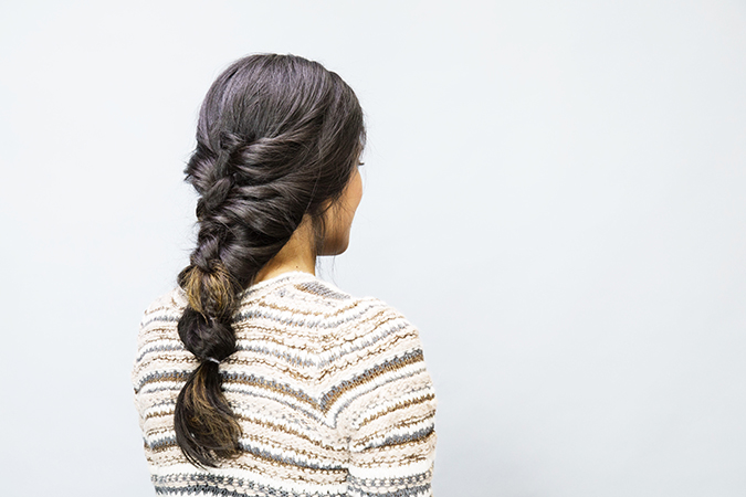 dreamy fall braid tutorial via LaurenConrad.com