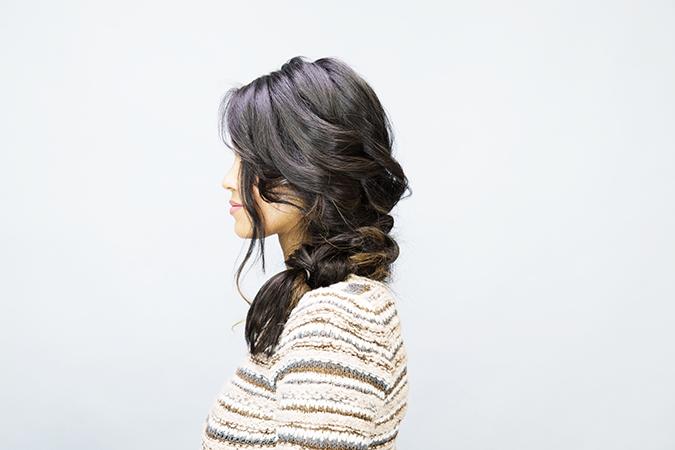 prettiest fall braid tutorial via LaurenConrad.com