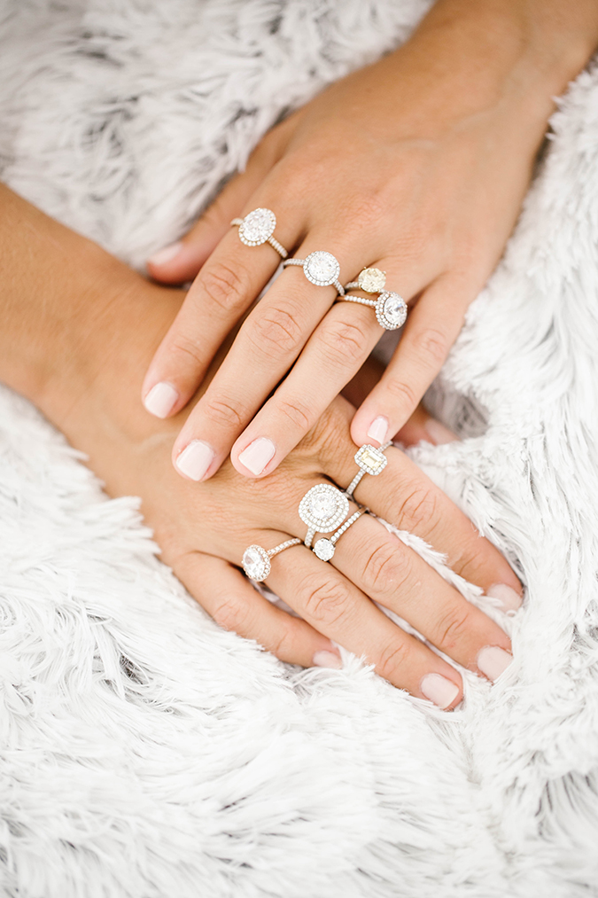 learn about ethical ring shopping with James Allen via LaurenConrad.com