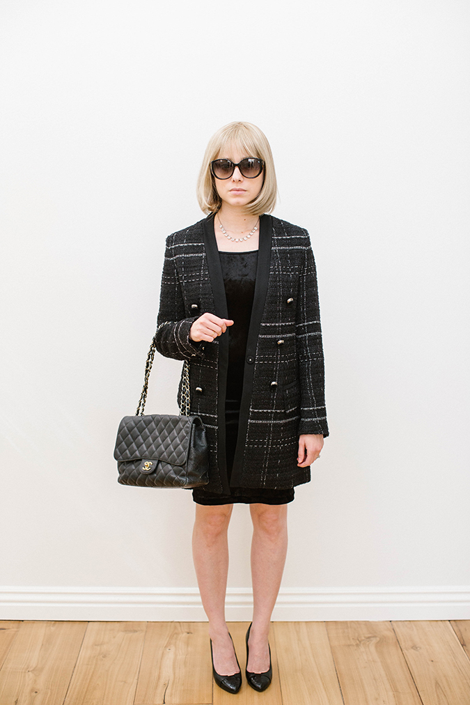 Anna Wintour DIY costume on LaurenConrad.com