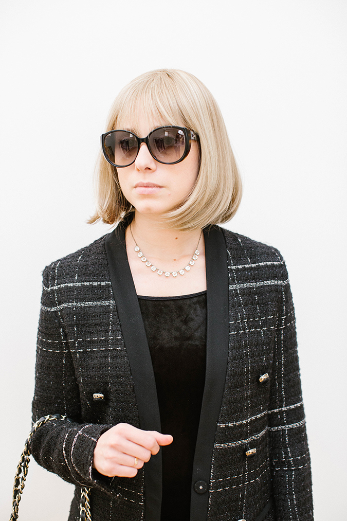 Anna Wintour costume DIY