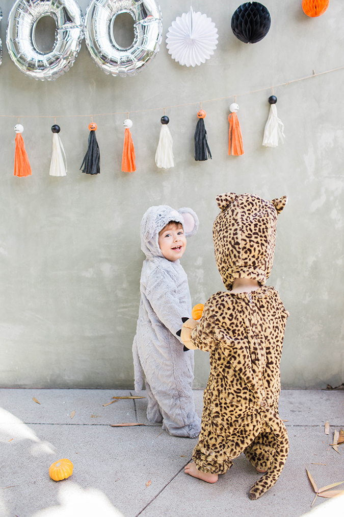 the cutest kids Halloween with Pottery Barn Kids