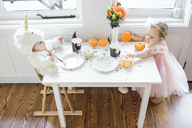 Halloween with Pottery Barn Kids via LaurenConrad.com