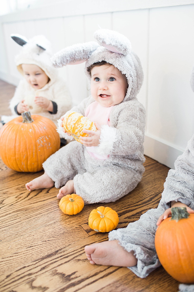 the cutest Halloween with baby and Pottery Barn Kids