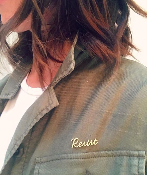Resist pin by Smith and Mara