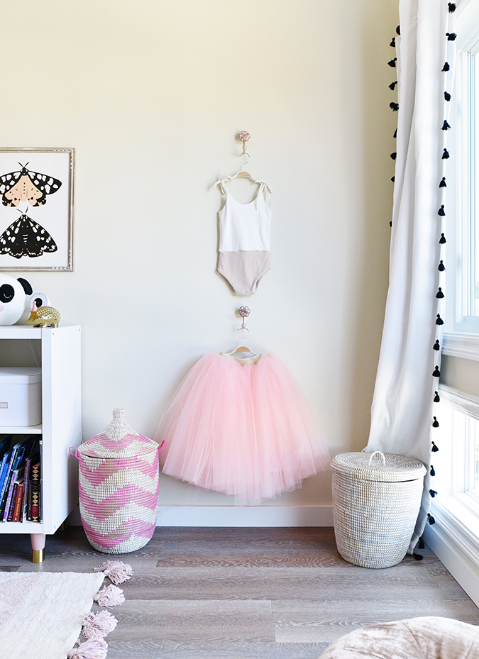 "a little girl's ""big kid"" room"