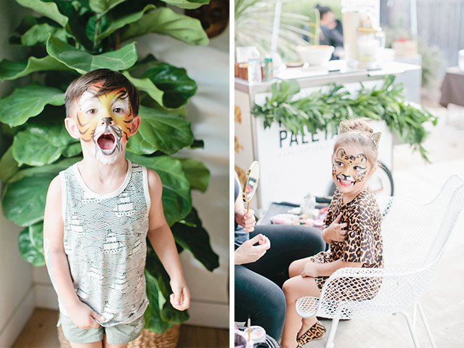 little kids jungle birthday via Beijos Events