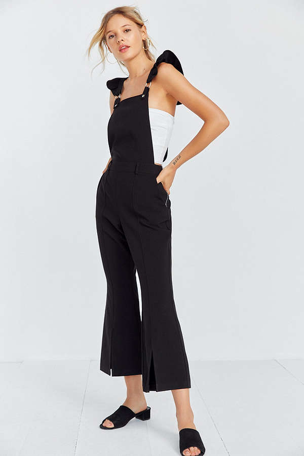 Urban Outfitters flare leg overalls