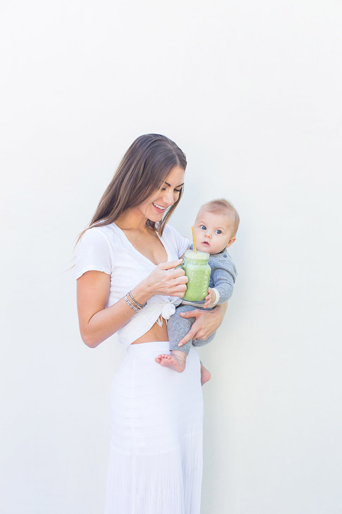 fourth trimester nutrition via LaurenConrad.com