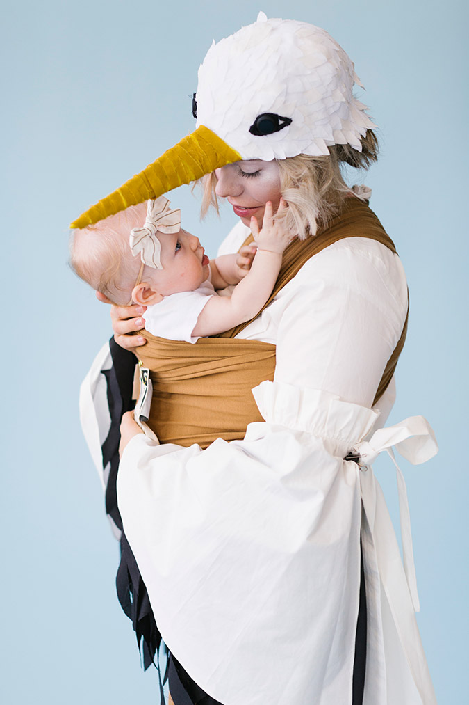 baby-wearing costumes via Solly Baby Wrap