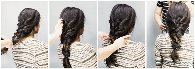 fall braid tutorial via LaurenConrad.com
