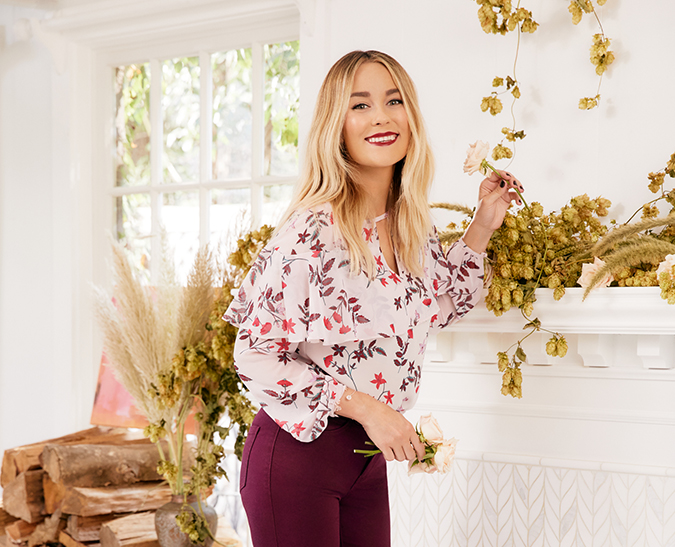 see Lauren's latest LC Lauren Conrad collection for Kohl's