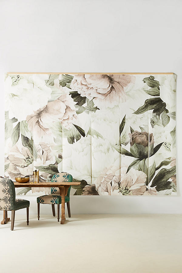 The edit lauren conrad for Anthropologie wallpaper mural