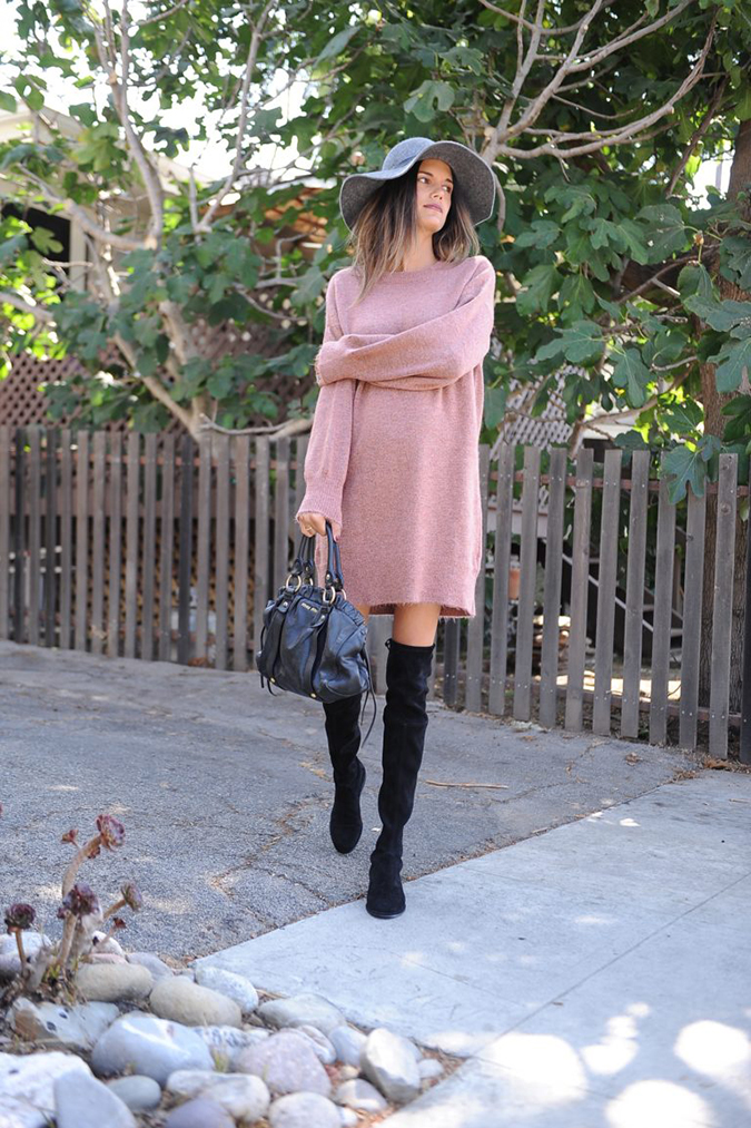 sweater dress via Bun Bun Book