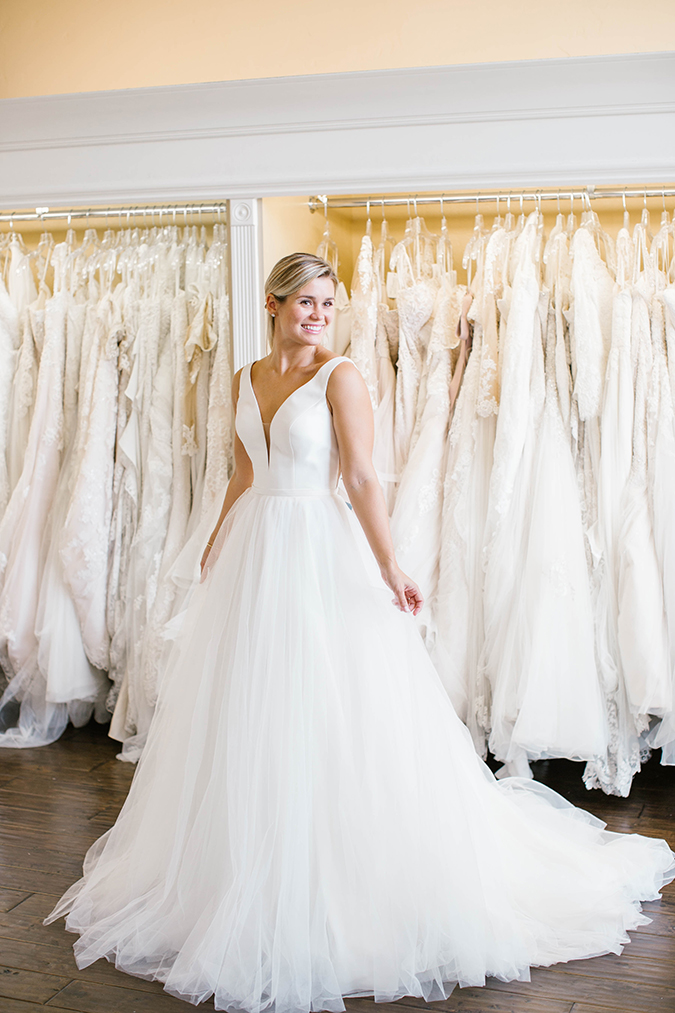 stunning stella york wedding gowns | laurenconrad.com