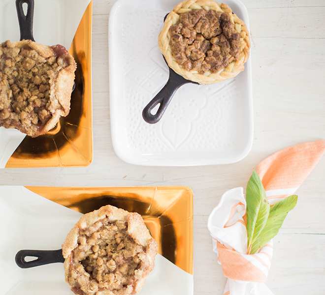 Recipe Box: Mini Pies in Cast Iron Skillets