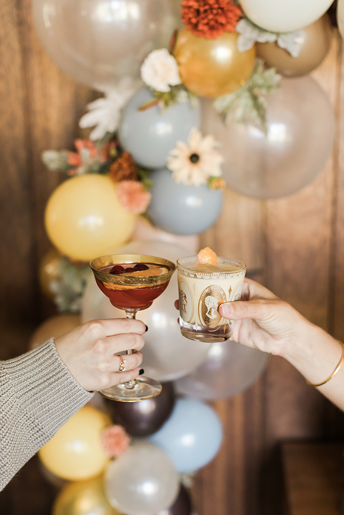 Friendsgiving cocktail recipes via LaurenConrad.com