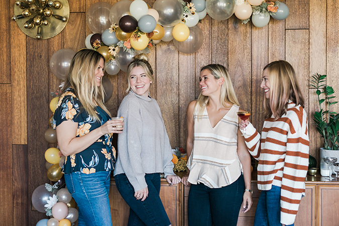 Friendsgiving on LaurenConrad.com