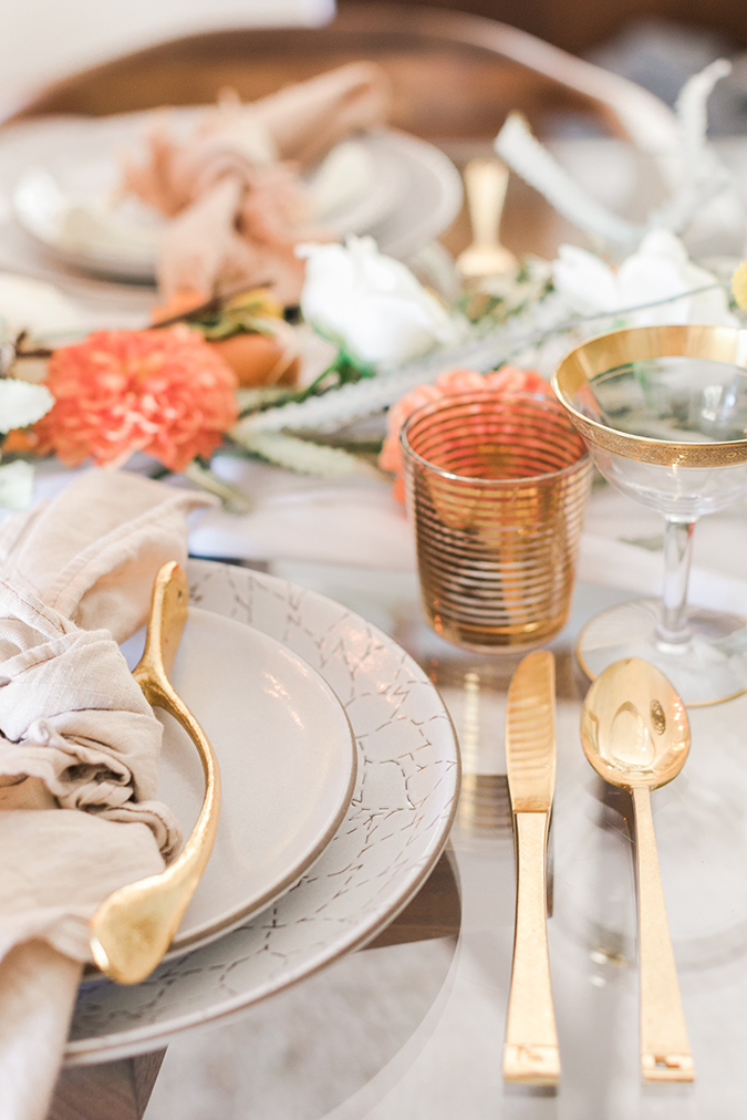 fall brunch tablescape ideas via LaurenConrad.com