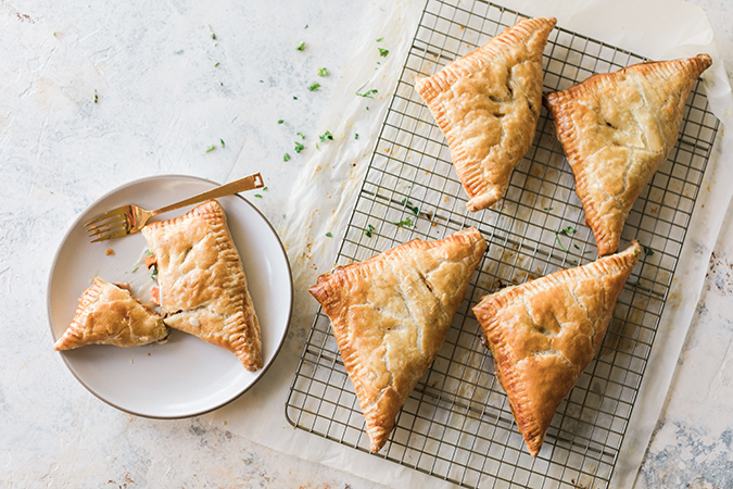 turkey pot pie hand pies via LaurenConrad.com