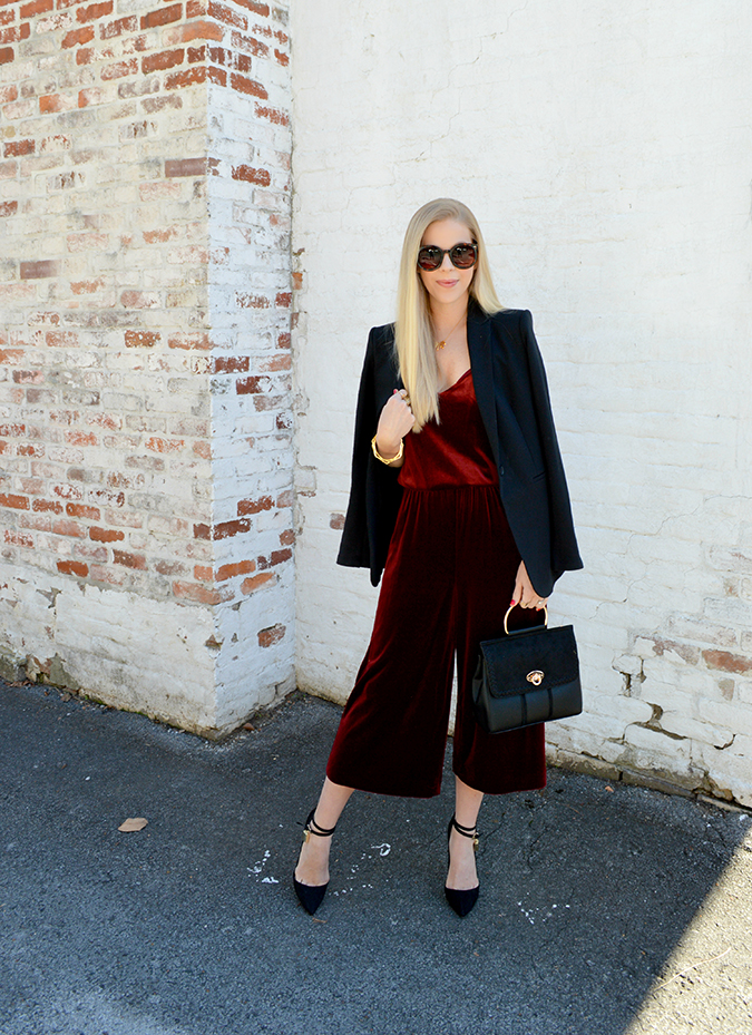how to wear colored velvet this season