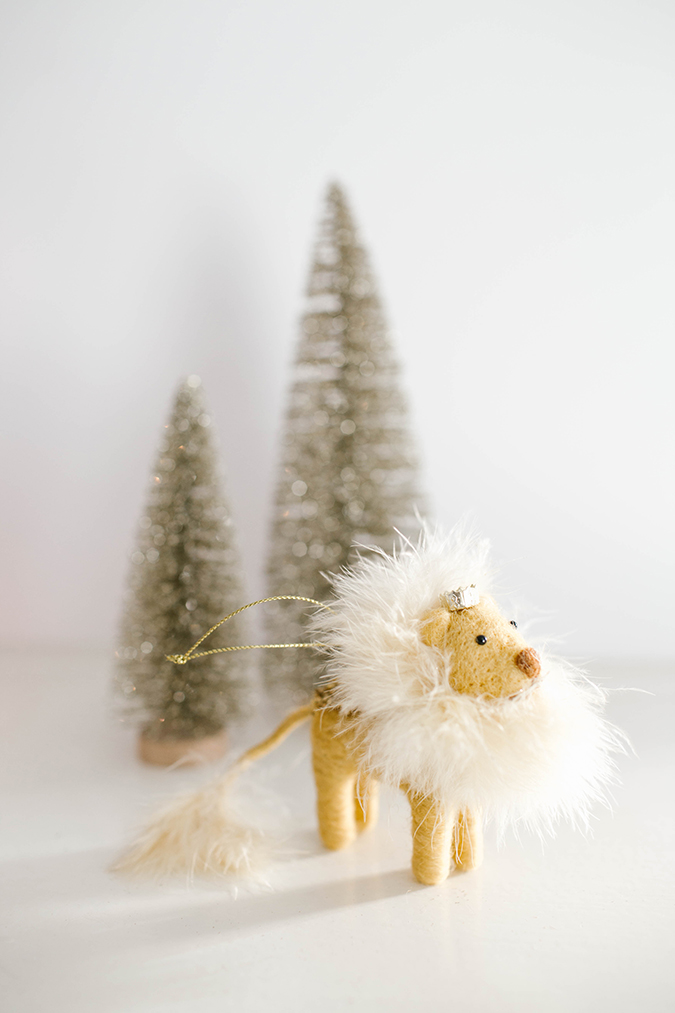 LC Lauren Conrad Lion Ornament