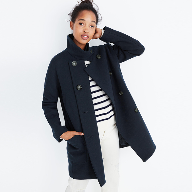 Madewell Double-Breasted Coat