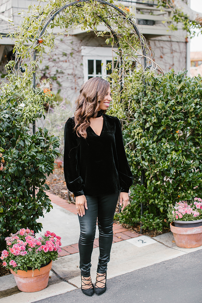 holiday date night look via LaurenConrad.com