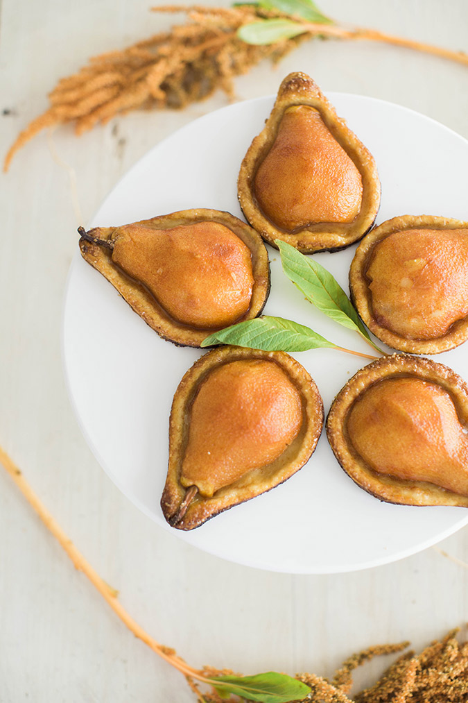 warm baked pear pies for fall via LaurenConrad.com
