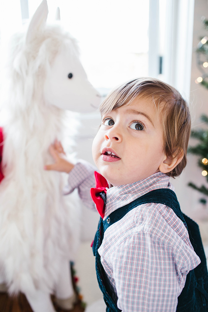 celebrating the holidays with Pottery Barn Kids