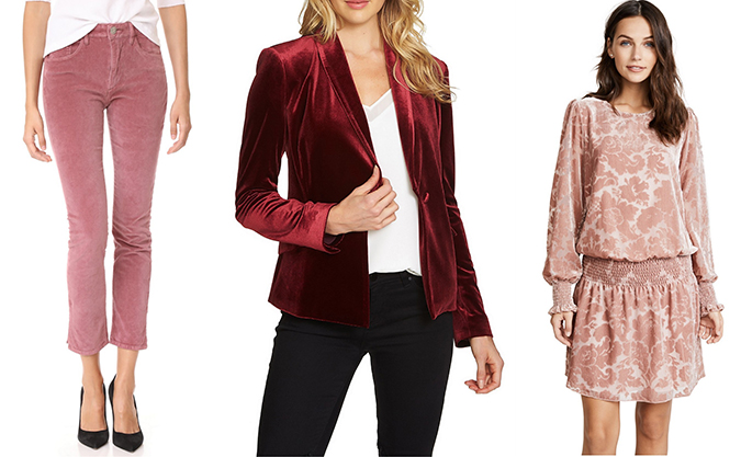how to add velvet to your wardrobe
