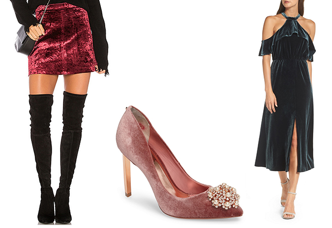 chic velvet pieces for fall and winter
