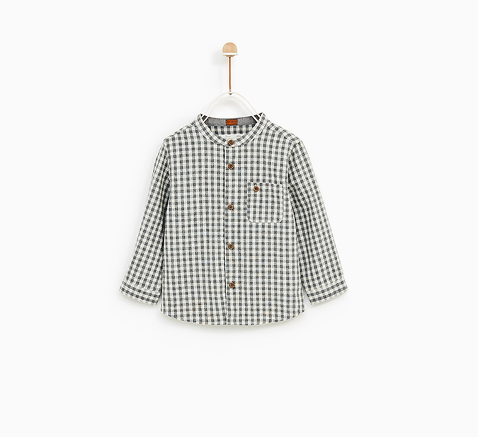 Zara Baby Checked Shirt