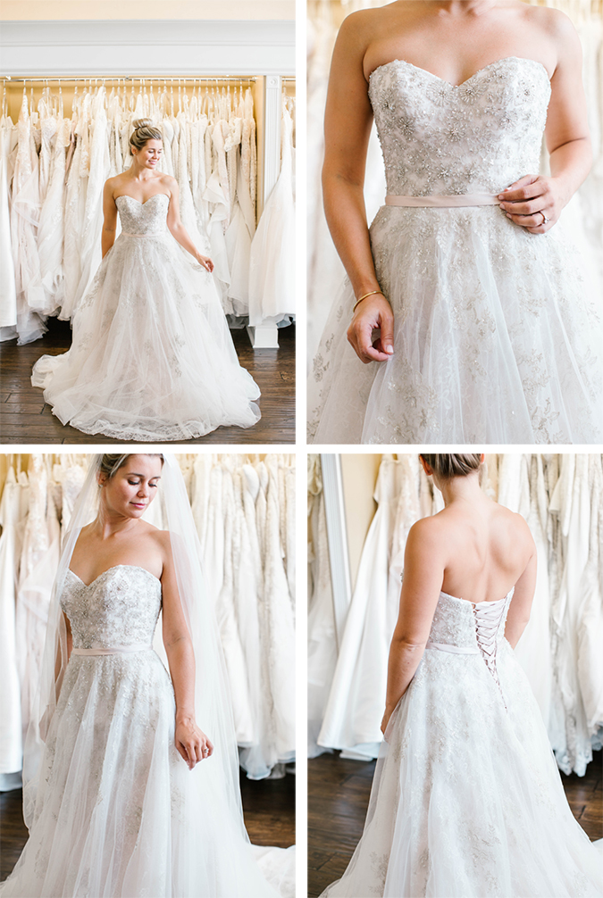 how to plan the perfect day of wedding dress shopping featuring stunning stella york gowns | laurenconrad.com