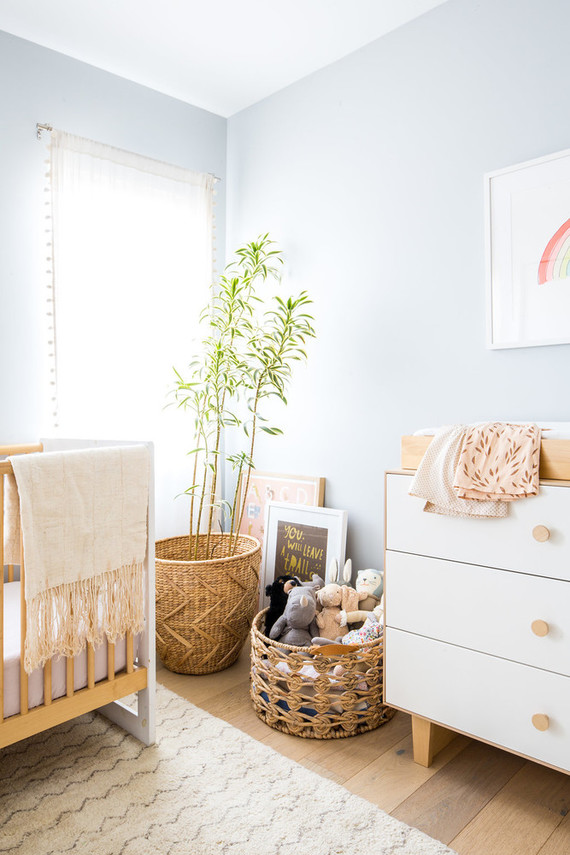 nature inspired nursery via 100 Layer Cakelet